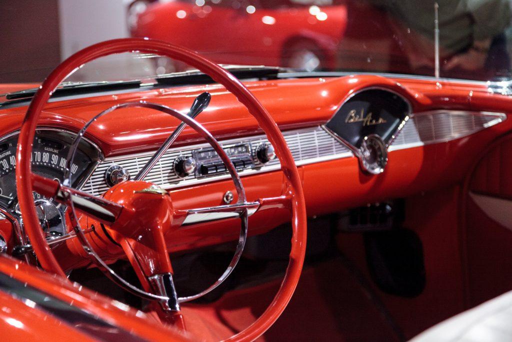 Red Chevrolet Bel Air