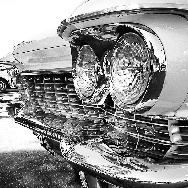Cadillac Headlights and grill
