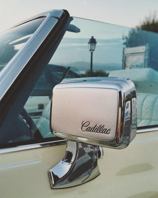 Cadillac Wing Mirror, Vintage, Convertible